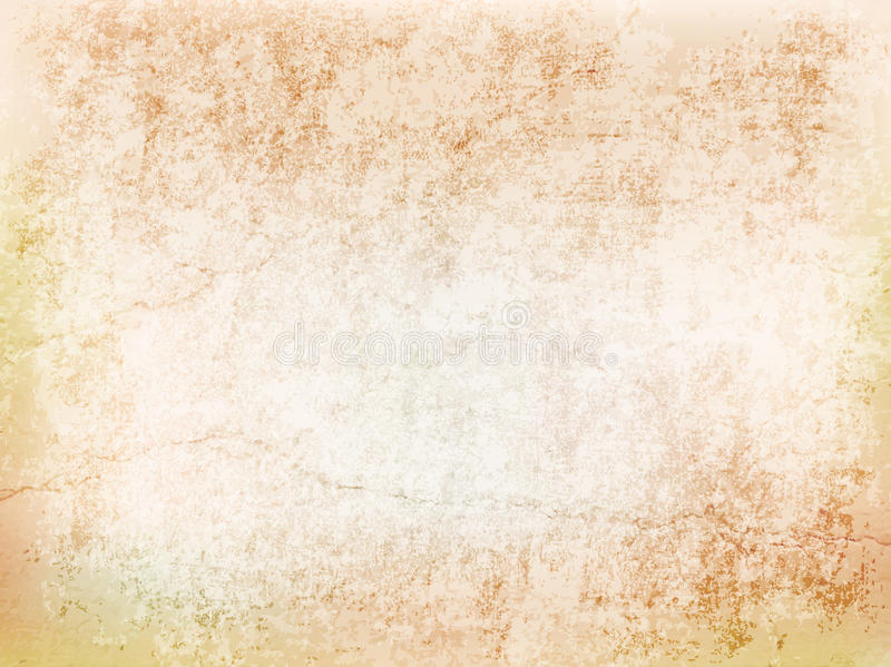 Mur antique avec des fissures illustration libre de droits