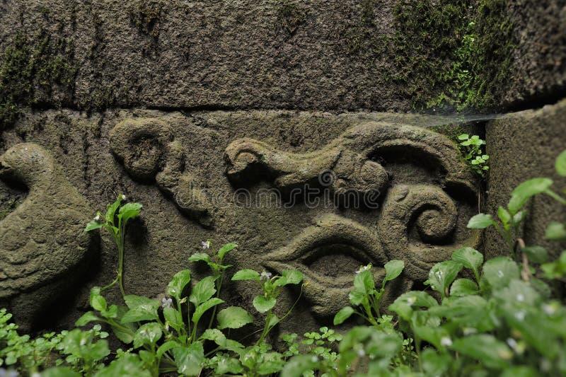 Mur antique chinois image stock