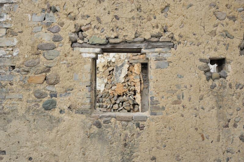 Mur antique chinois image libre de droits