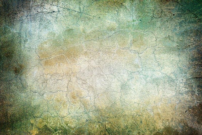 Mur avec des fissures illustration de vecteur