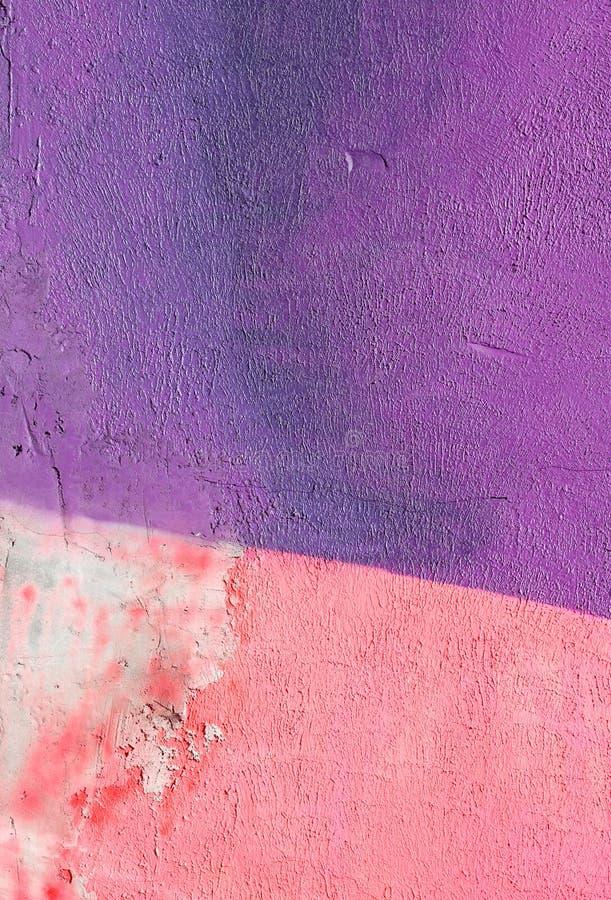 mur avec la peinture rose pourpre color e de mod le de peinture de mur image stock image du. Black Bedroom Furniture Sets. Home Design Ideas