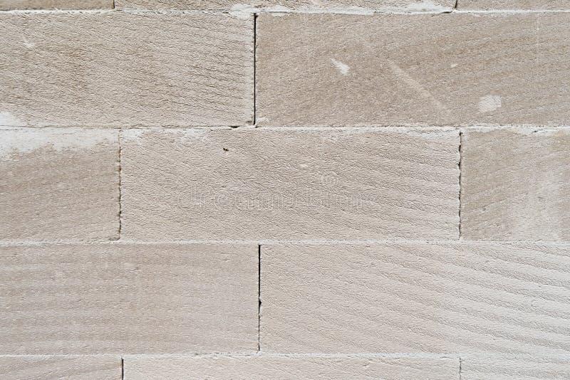Mur avec la texture blanche de briques images libres de droits