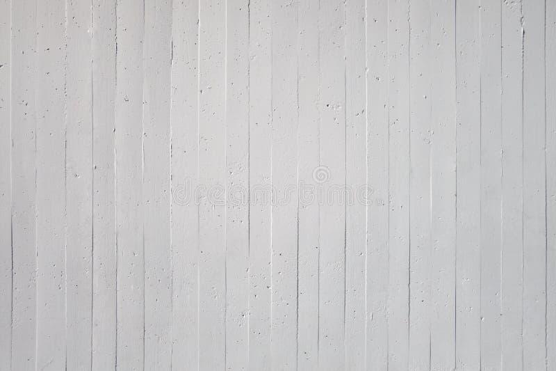 Mur blanc de béton exposé images libres de droits