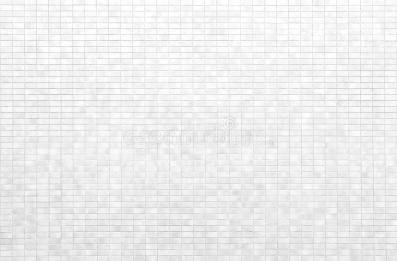 Mur blanc de tuile de brique ou plancher de tuiles blanc photos libres de droits