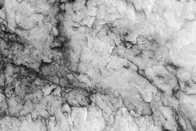 mur blanc moderne Blanc naturel de texture de fond avec la pierre noire de rayures Marbre de texture photos stock