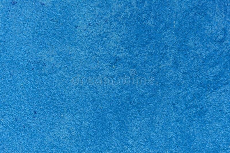 Mur bleu de trottoir de ciment photo libre de droits