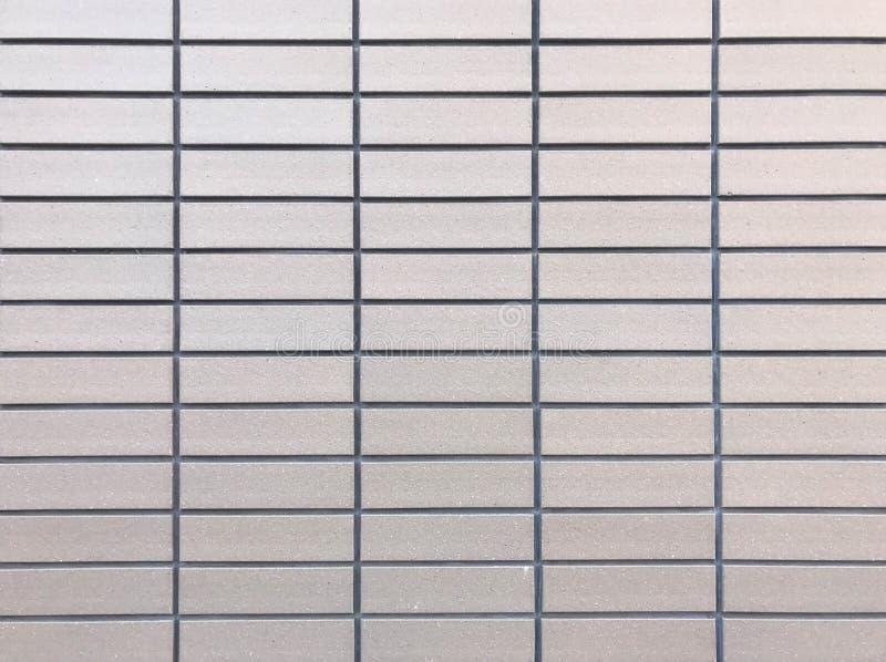Mur brun clair de carreau de céramique photographie stock