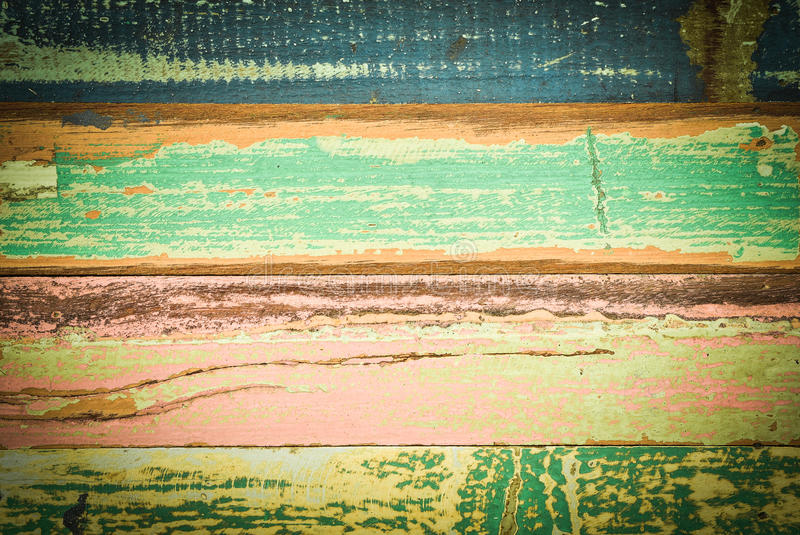 Mur coloré de vintage photo libre de droits