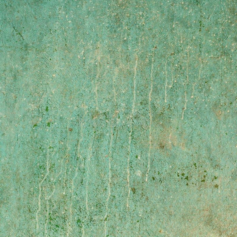 Mur criqué de grunge antique avec des bavures de saleté photographie stock libre de droits