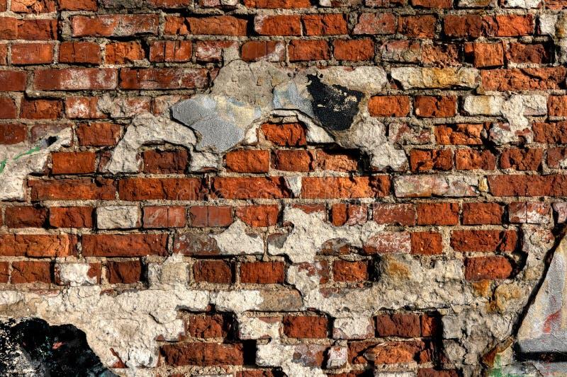Mur détruit photos stock