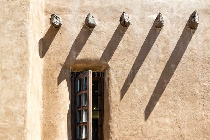 Mur d'Adobe photo libre de droits