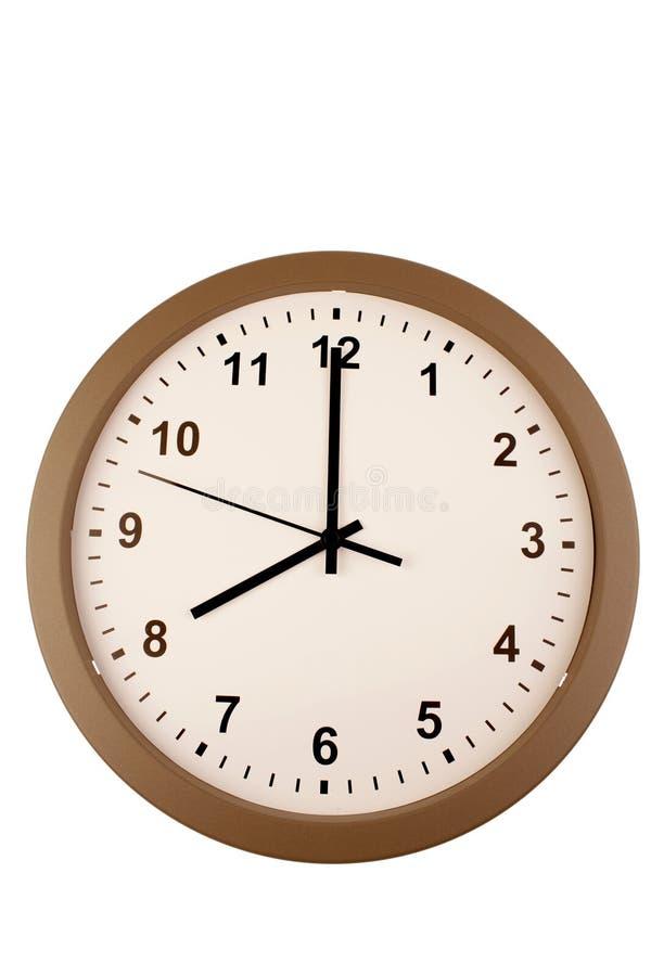 Download Mur d'horloge photo stock. Image du limite, contact, mains - 8666410