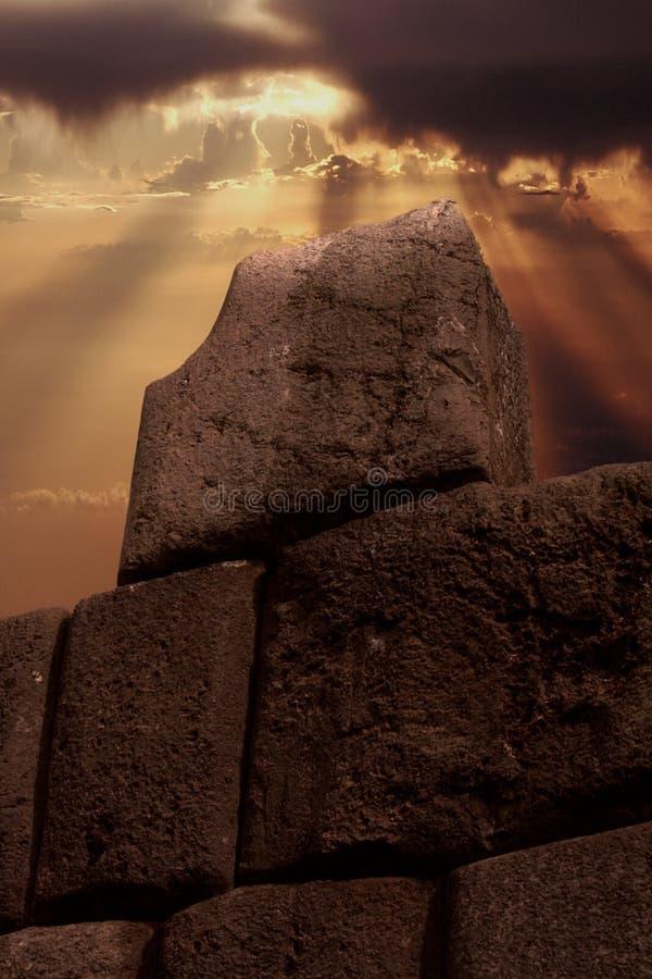 Mur d'Inca image stock