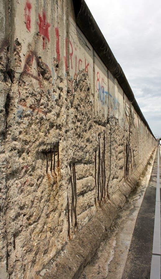 Mur de Berlin photo libre de droits