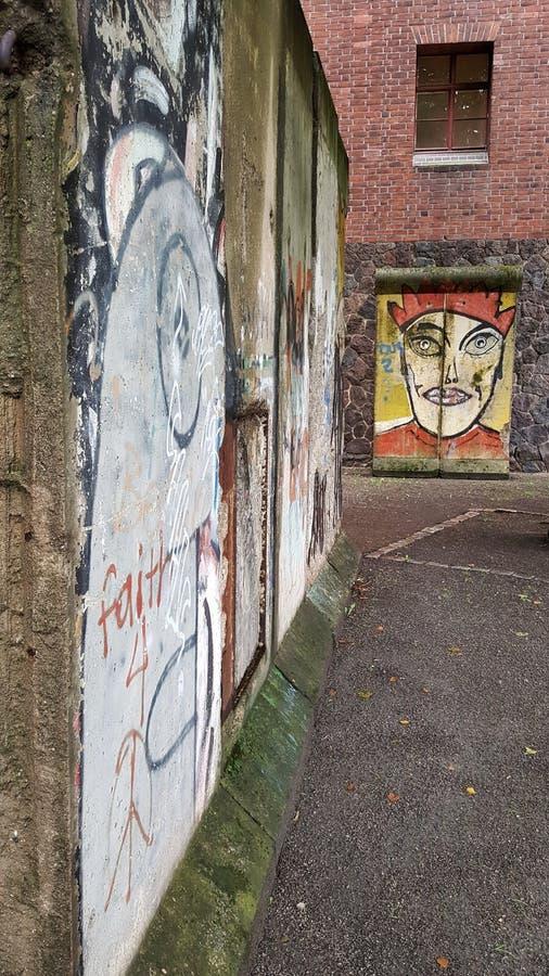 Mur de Berlin photos libres de droits