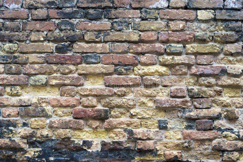 Mur de briques à Venise images stock