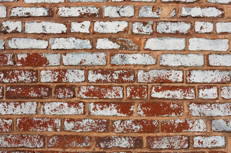 Mur de briques photo stock