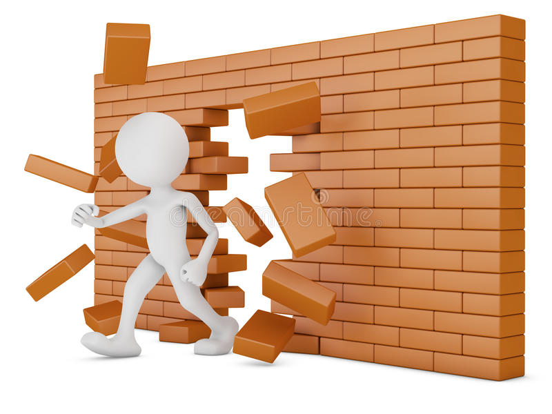 Mur de briques illustration de vecteur