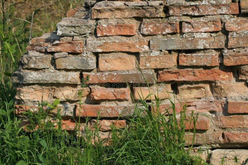 Download Mur de briques photo stock. Image du industriel, abstrait - 745528