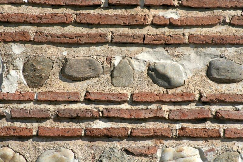 Mur de briques antique photos stock