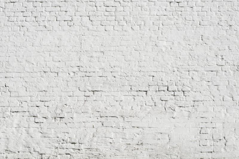 Mur de briques blanc énorme images stock