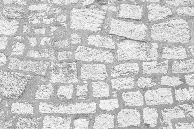 Mur de briques blanc comme fond ou texture photographie stock libre de droits