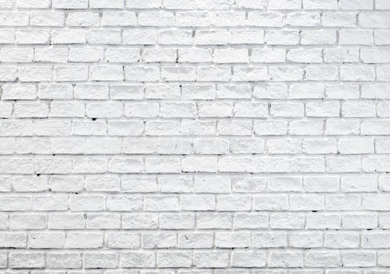 Mur de briques brumeux blanc pour le fond ou la texture photographie stock