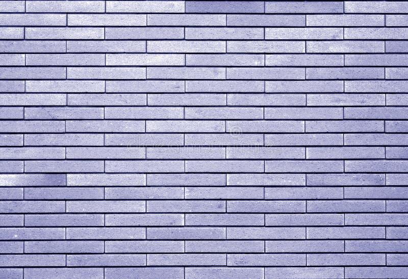 Mur de briques décoratif dans le ton bleu illustration de vecteur