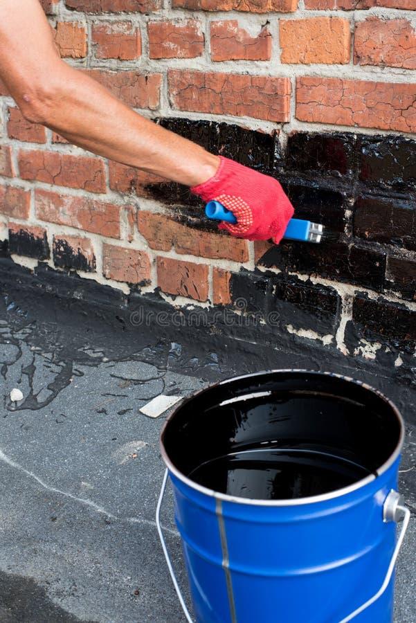 Download Mur de briques d'amorçage photo stock. Image du réparation - 77157190