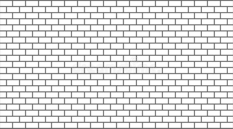 mur de briques de blanc de vecteur illustration de vecteur illustration du fond mat riau. Black Bedroom Furniture Sets. Home Design Ideas