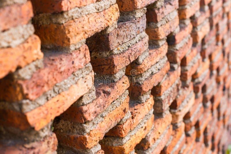 Mur de briques de couleur rouge photo libre de droits