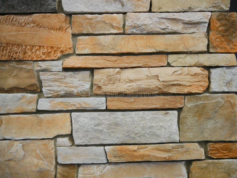 Mur de briques de grès images libres de droits
