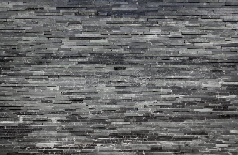 Mur De Briques De Marbre Contemporain Photographie stock libre de ...