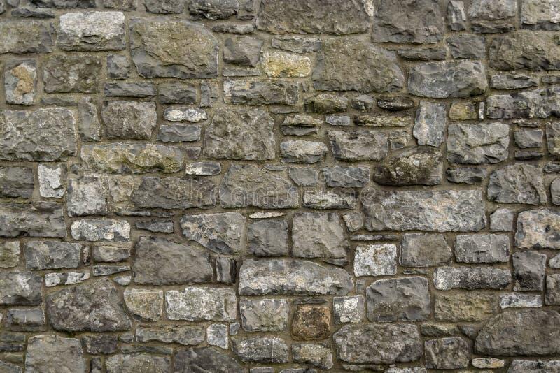 Mur de briques en pierre abstrait photos libres de droits