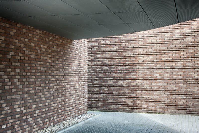 Mur de briques fait de briques photos stock