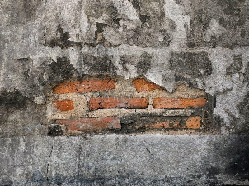 Mur de briques de fente comme texture de fond photo libre de droits