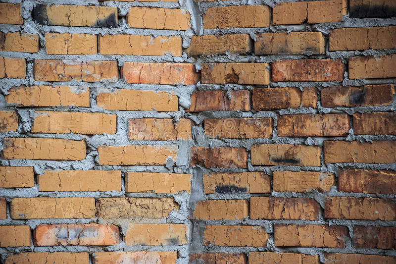 Mur de briques/fond saisissants primitifs photos libres de droits