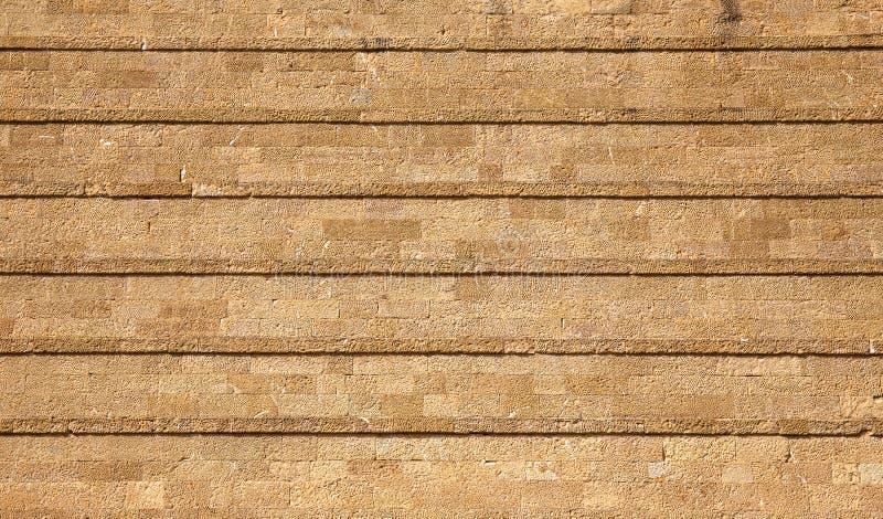 Mur de briques de grès photos libres de droits