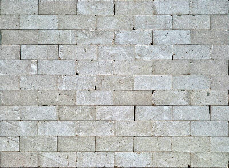 Mur de briques gris image stock