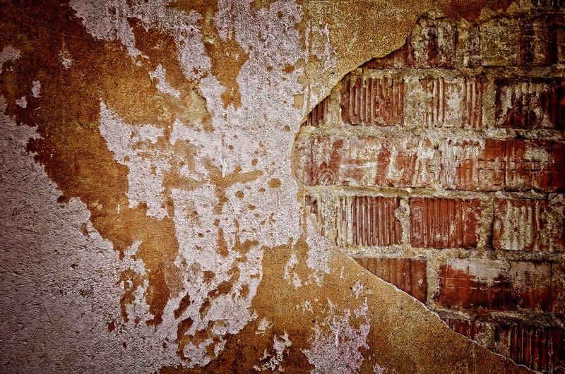 Mur de briques grunge photos stock