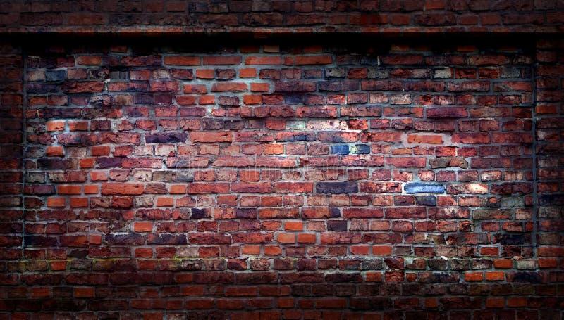 Mur de briques grunge abstrait photo libre de droits