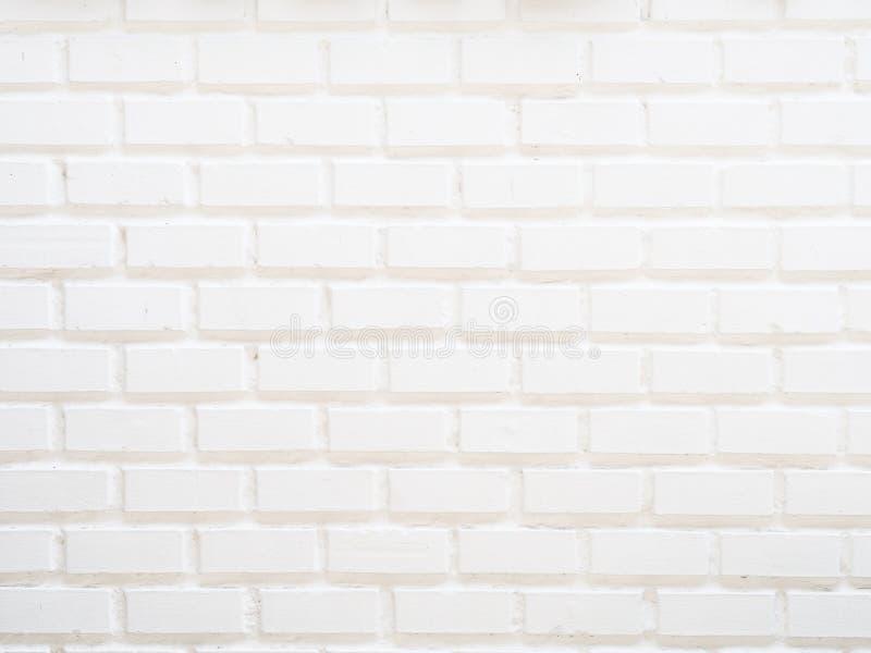 Mur de briques grunge blanc images libres de droits