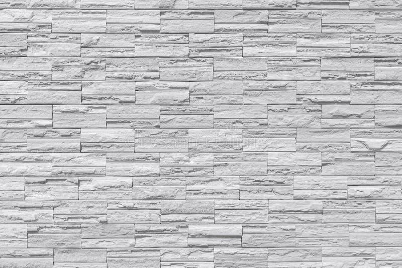 Mur de briques moderne Weall de roche image stock