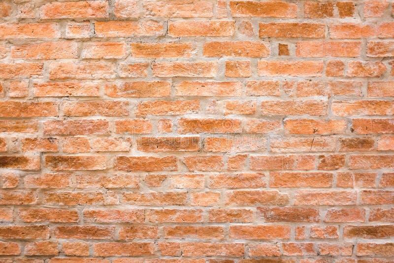 Mur de briques orange photo libre de droits