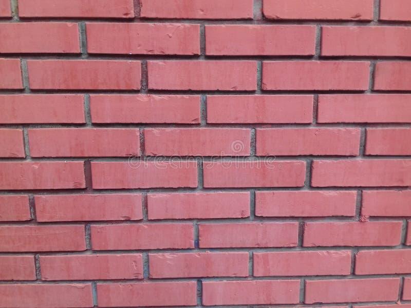Mur de briques rouge - fond photographie stock libre de droits