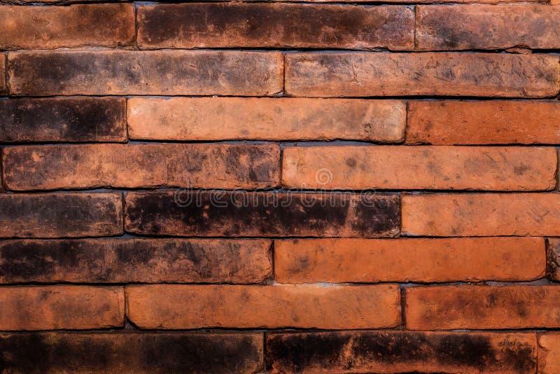 Mur de briques rouge, idéal pour un fond image stock