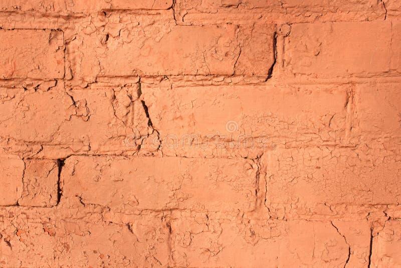 Mur de briques rouge pour le fond ou la texture photo libre de droits
