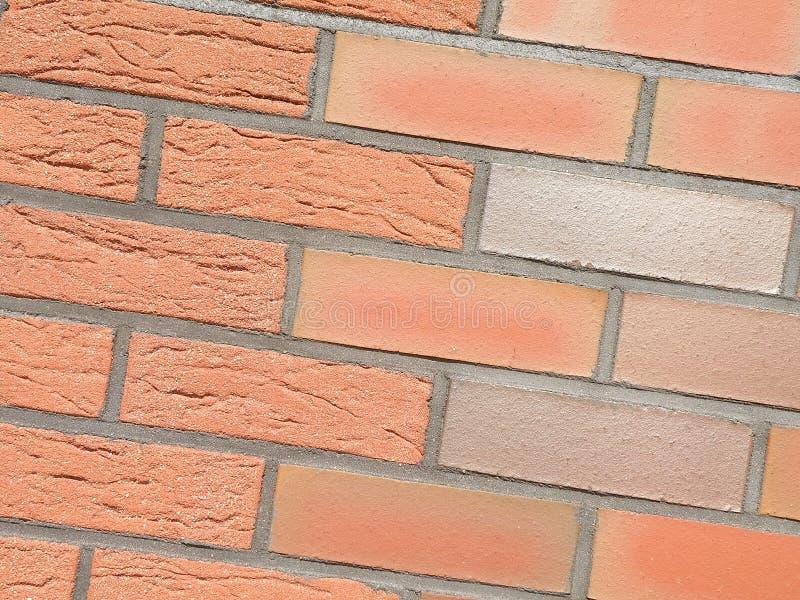 Mur de briques rouges photo libre de droits