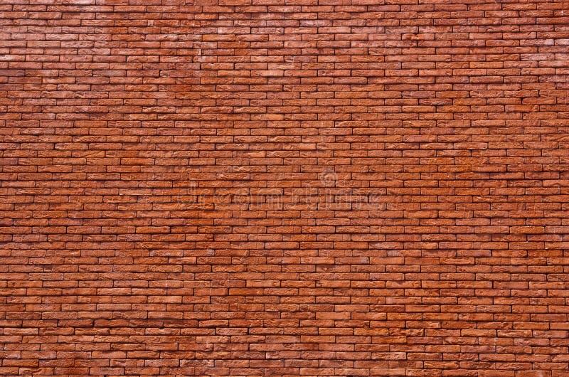 Mur de briques rouges photographie stock libre de droits