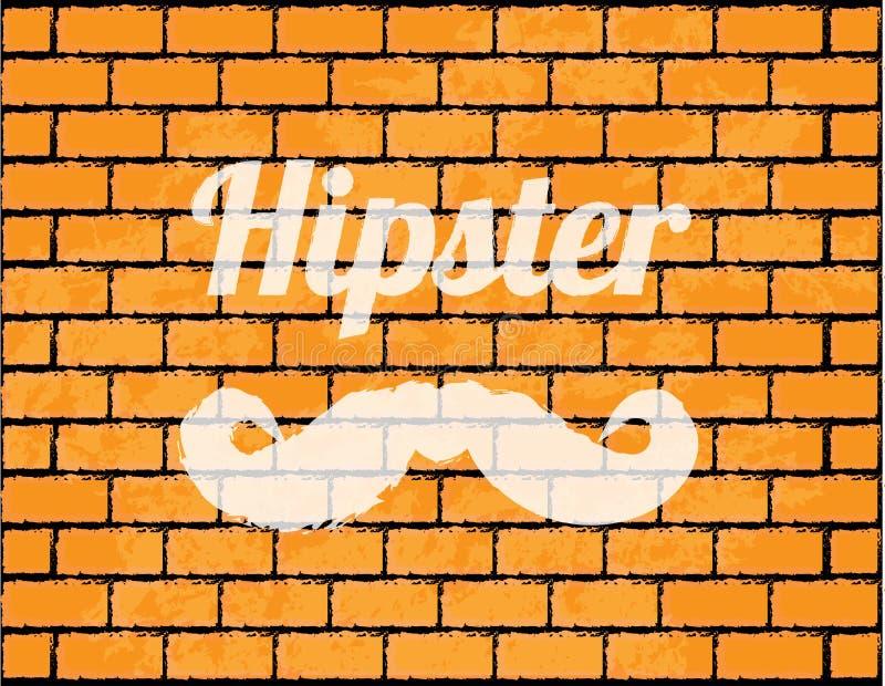 Mur de briques spécial illustration stock